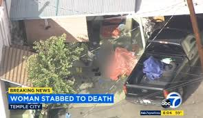 intruder stabs california to with samurai sword