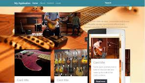 tutorial web dengan yii yii2 theme factory home