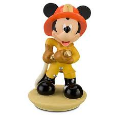 firefighter figurines your wdw store disney cake topper figure mickey mouse fighter