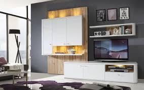 Esszimmer Beleuchtung Wohnzimmer Marlow Wohnwand Inkl Led Beleuchtung