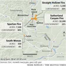 Map Of Oregon Fires by Eastern Washington Wildfires Prompt Urgent Evacuations The