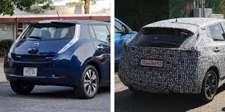renault zoe 2018 next gen nissan leaf spotted on public roads design refresh