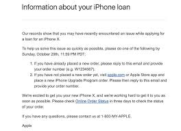 apple sending emails to iphone upgrade program customers who had