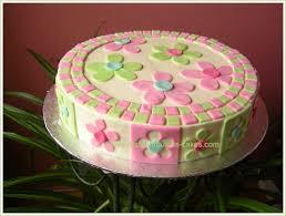 Flower Cakes Spring Flower Cake