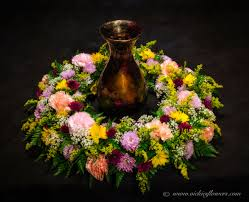 Traditional Funeral Flower - cremation u0026 urn funeral flowers vickies flowers brighton co