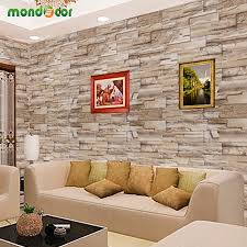 Wall Decal For Living Room 0 4mx10m Home Decor Wall Decals Pvc Vinyl Brick Waterproof Wall