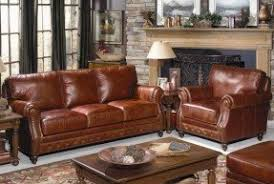 Burgundy Leather Sofa Leather Recliner With Nailhead Trim Foter