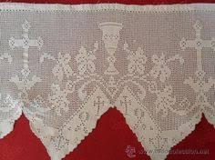imagenes religiosas a crochet para la celebración puntillas puntilla para mantel 14cms de ancho