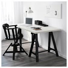 Linnmon Corner Desk by Oddvald Linnmon Table White Black 150x75 Cm Ikea