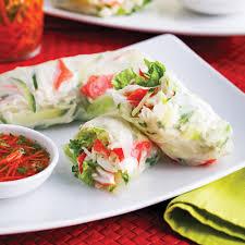 recettes cuisine rouleaux à la salade de goberge soupers de semaine recettes 5 15