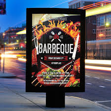 barbeque party u2013 premium flyer template facebook cover