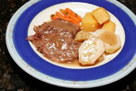 home style pot roast with vegetables and gravy recipe