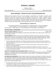 Resume Examples Objective Statement by Sales Manager Objective For Resume Examples Shopgrat In Account