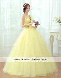 one shoulder wedding dresses yellow flowers one shoulder wedding gown onesimplegown