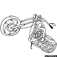 motorcycles motocross dirt bike online coloring pages page 1