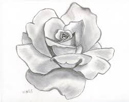 Drawing Games Flower Drawing Rose Drawing A Rose Flower Easy Drawing Of Rose