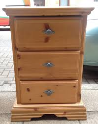 Old Pine Furniture Chouchou Vintage Boring Old Pine Bedside Cabinets Given A Chalk