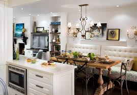 dining room luxury large kitchen design with white wooden kitchen