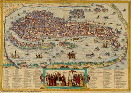 Map Venice Florida by Contemporary Maps Of Renaissance Italian Cities Courtesy Of The