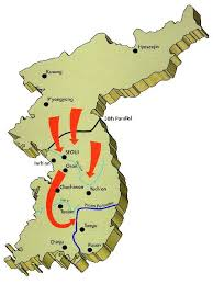pusan on map 1st cavalry division history korean war 1950 1951