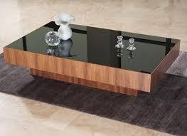 Black Modern Coffee Table Contemporary Modern Coffee Tables Jennyoctonails Com