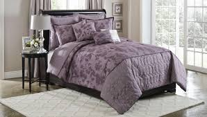 Plum Bed Set Cannon Plum Silhouette 6 Pc Comforter Set Bed Bath Decorative