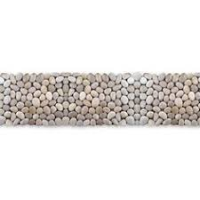 pebble tile natural stone tile the home depot solistone 10 pack decorative pebbles off white natural stone