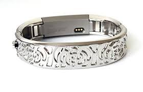 bracelet tracker images Bsi silver metal bracelet for fitbit alta fitness jpg