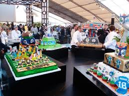 the n f l staged a cake decorating competition on sunday