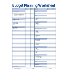 Budgeting Plan Template template for budget planning pertamini co