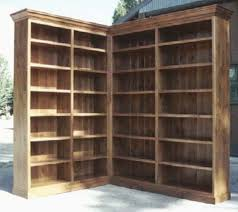 Bookcase Corner Unit Bookcases Cabinets Sun Valley Wood Works