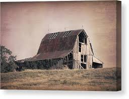 Tom Barn Rustic Barn Canvas Prints Fine Art America