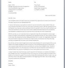 sample fundraising letter u2013 smart letters