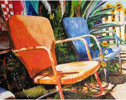 lawn chairs etsy