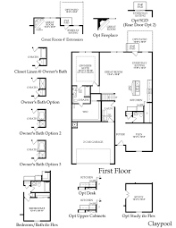 centex claypool floor plan great layout dream house plans