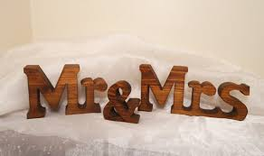 Mr And Mrs Wedding Signs Chunky Mr And Mrs Wedding Sign Letters For Wedding Sweetheart
