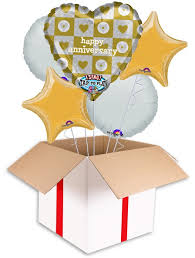 singing balloon happy anniversary singing balloon delivered inflated in uk
