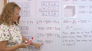 add and subtract multiples of 100 mental math youtube