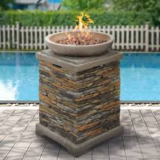 Lava Rocks For Fire Pit by Best Choice Products Outdoor Fire Bowl Firepit With Lava Rocks Stone B