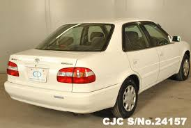 toyota corolla used for sale 1999 toyota corolla white for sale stock no 24157 japanese