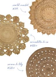 must have for the home the round jute rug coco kelley guest