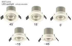 Showcase Lighting Fixtures 4w Led Recessed Downlight Spotlights For Museum Showcase Lighting