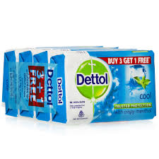 cool buy dettol cool soap buy 3 get 1 free 4 75 gm best buy deals