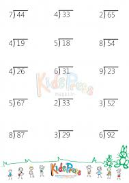 division 3 digit by 1 digit division free math worksheets for