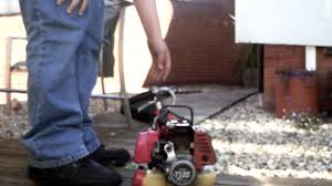 start and review my working strimmers mitsubishi too youtube