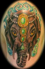 free amazing styles elephant tattoo design idea images photos