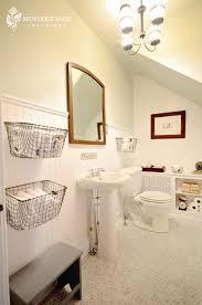 Benjamin Moore Gray Bathroom - attic works fab attic bath