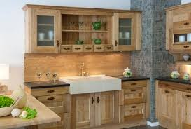 des cuisines en bois mobilier en bois de cuisine photo 3 10 plus d infos sur le
