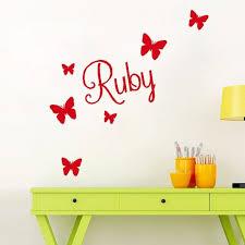 autocollant chambre bébé stickers muraux autocollant chambre enfant papillon achat