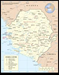 Map Of Sierra Leone Chapter 8 Sierra Leone The Revolutionary United Front U003e Center